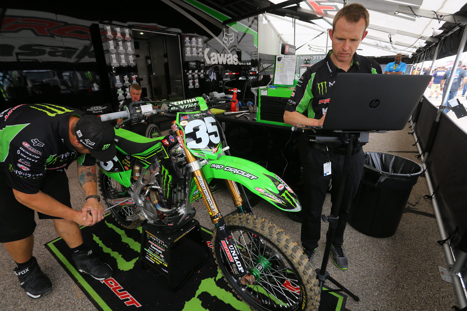 Chris Alldredge - Vital MX Pit Bits: Arlington - Motocross Pictures - Vital MX