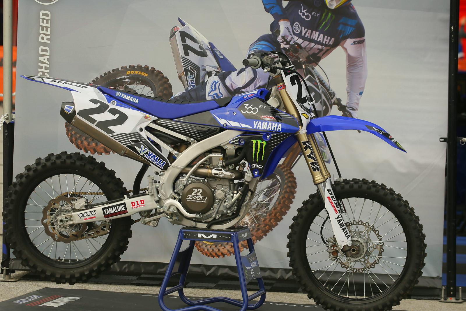 Chad Reed - Vital MX Pit Bits: Arlington - Motocross Pictures - Vital MX