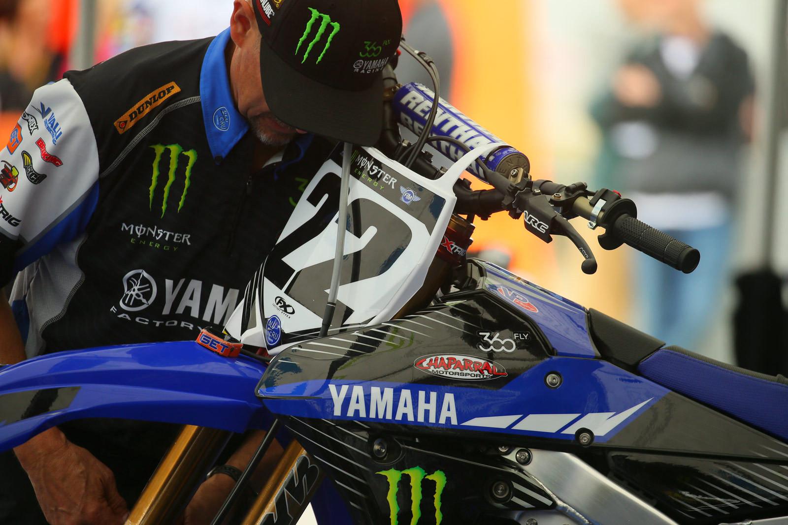 Team Yamaha - Vital MX Pit Bits: Arlington - Motocross Pictures - Vital MX