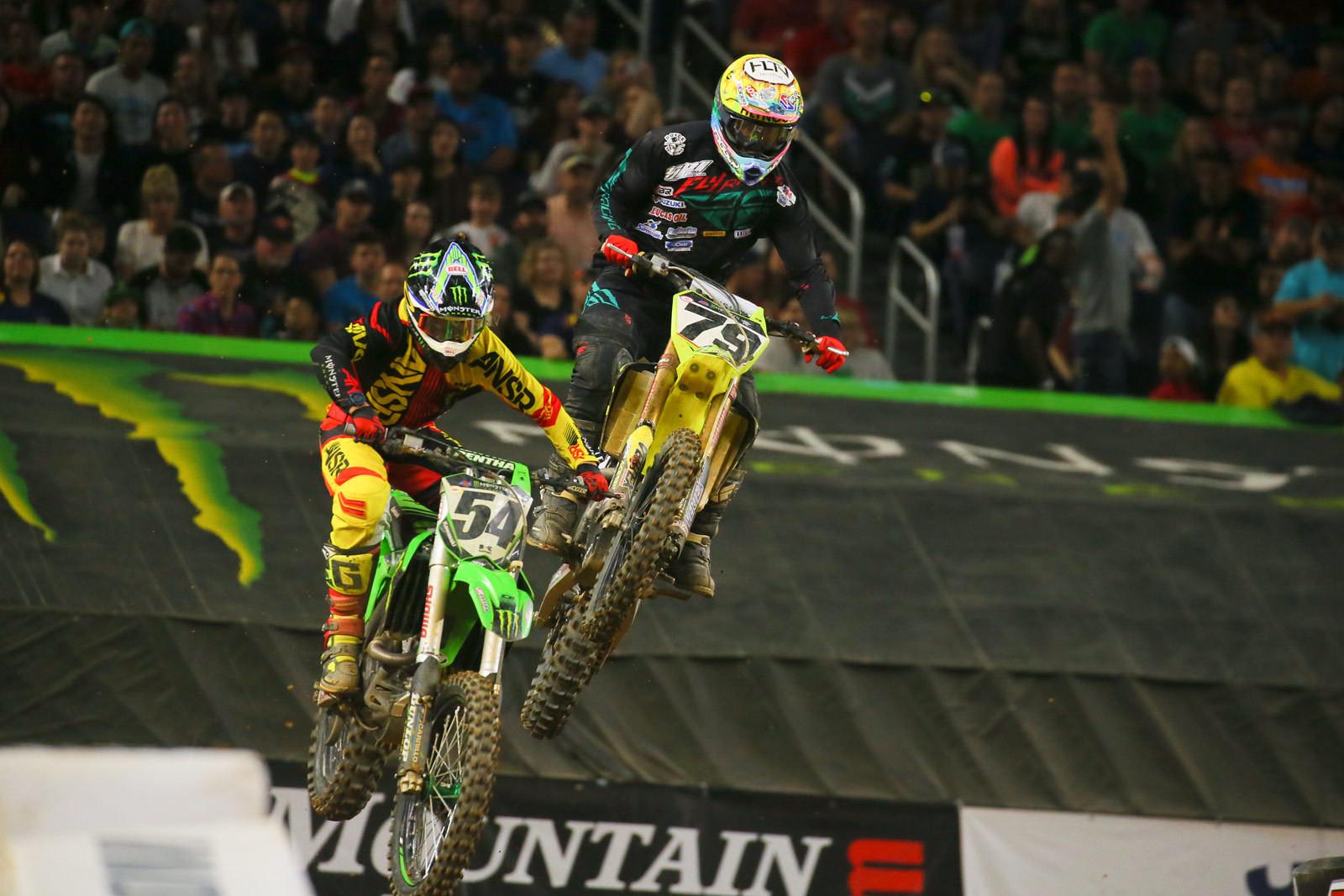 Wil Hahn and Nick Schmidt - Photo Blast: Arlington - Motocross Pictures - Vital MX