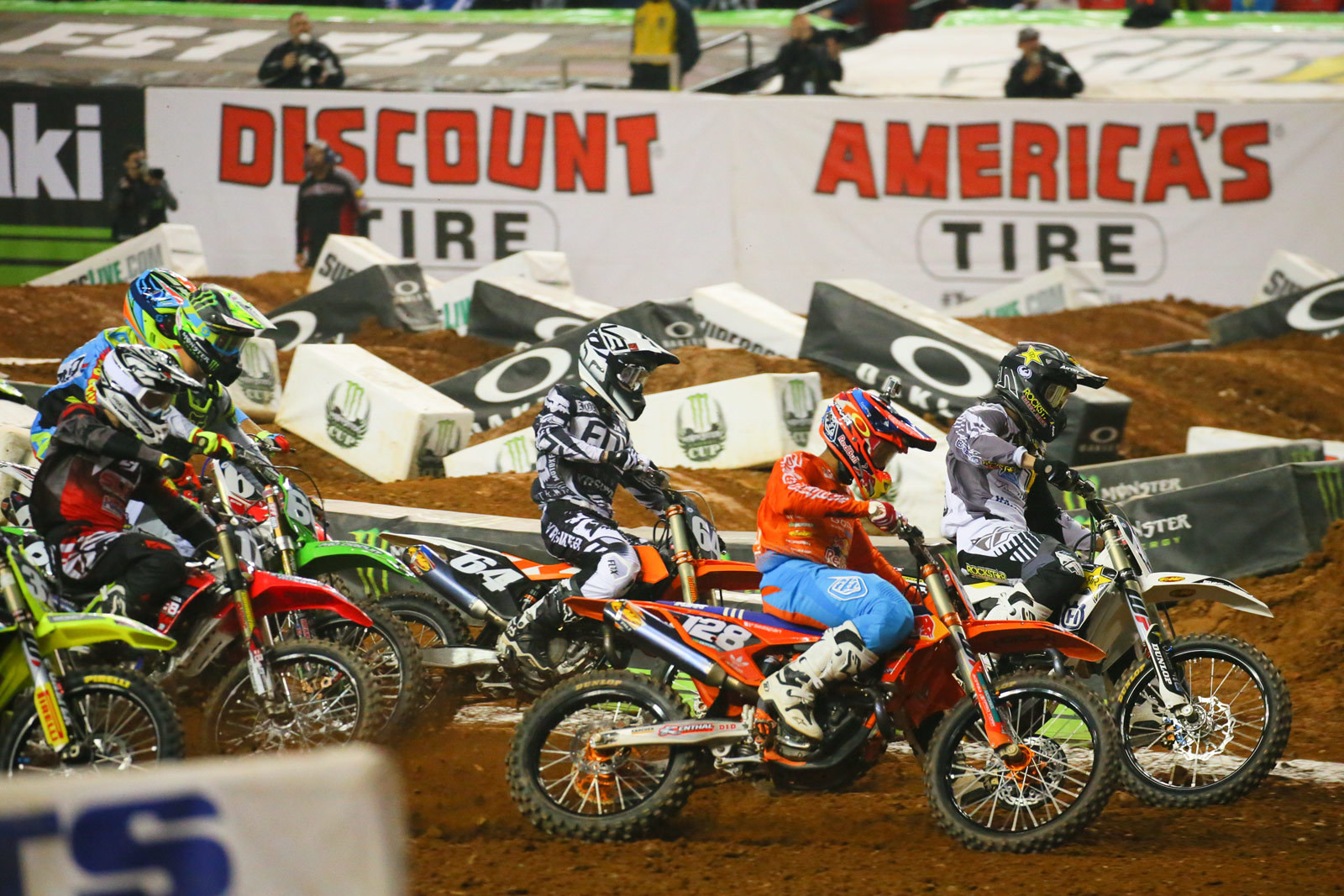 250 Heat Race One Start - Photo Blast: Atlanta - Motocross Pictures - Vital MX