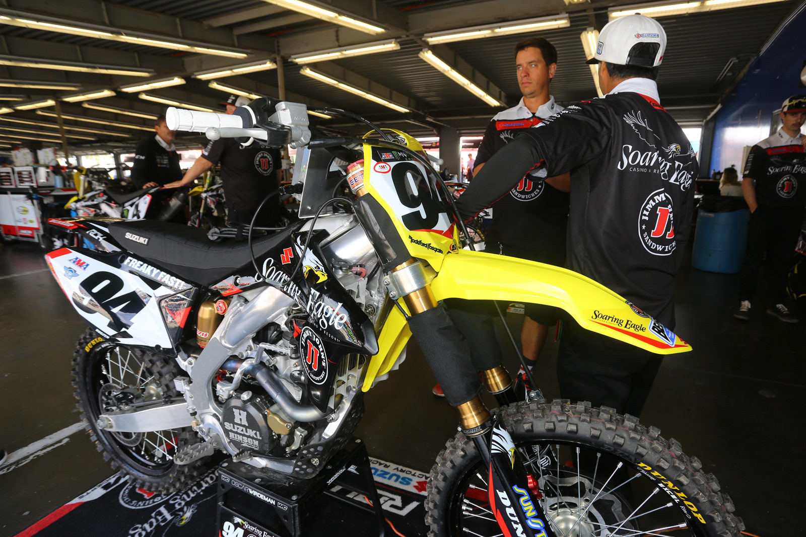 Ken Roczen - Vital MX Pit Bits: Daytona - Motocross Pictures - Vital MX