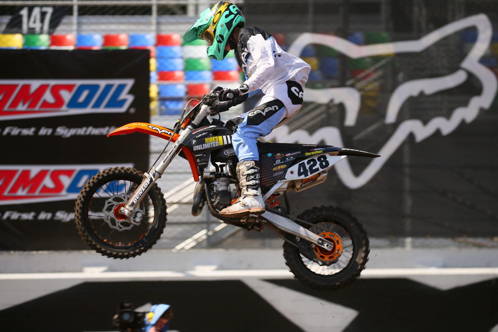 Nathaniel Thrasher - 2016 Ricky Carmichael Amateur Supercross - Motocross Pictures - Vital MX