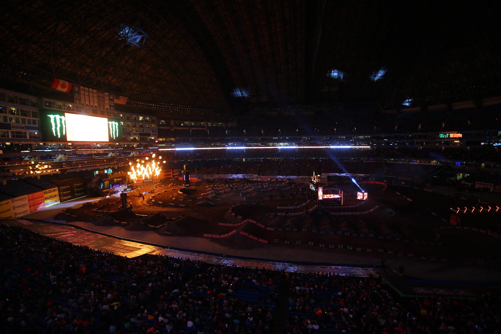 Rogers Centre - Photo Blast: Toronto - Motocross Pictures - Vital MX