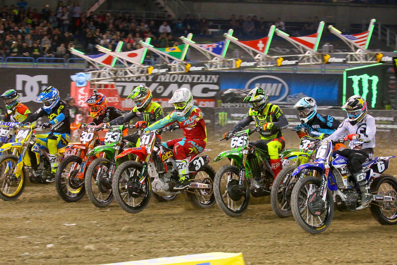 250 Heat One Start - Photo Blast: Toronto - Motocross Pictures - Vital MX