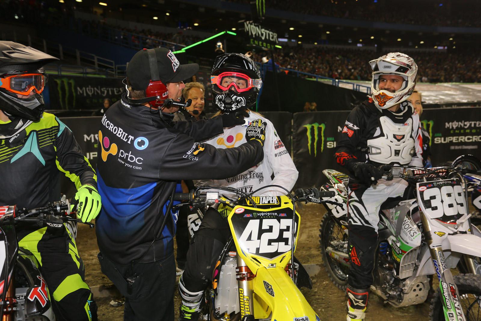 Vicki Golden - Photo Blast: Toronto - Motocross Pictures - Vital MX