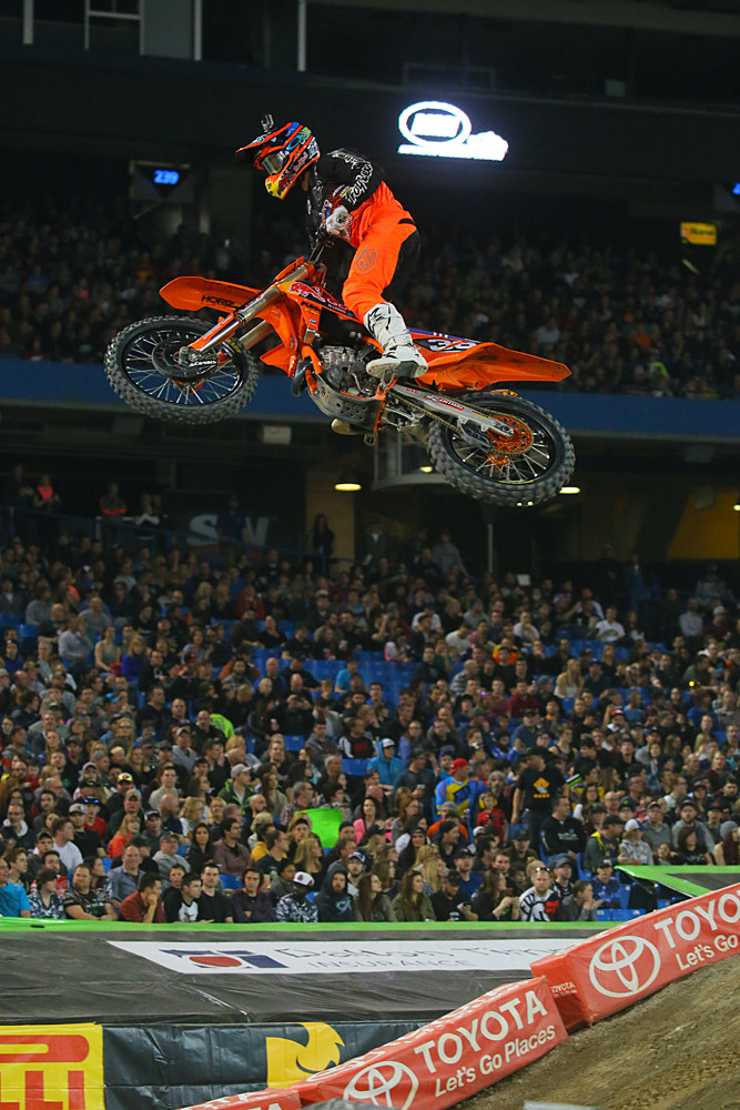 Justin Hill - Photo Blast: Toronto - Motocross Pictures - Vital MX