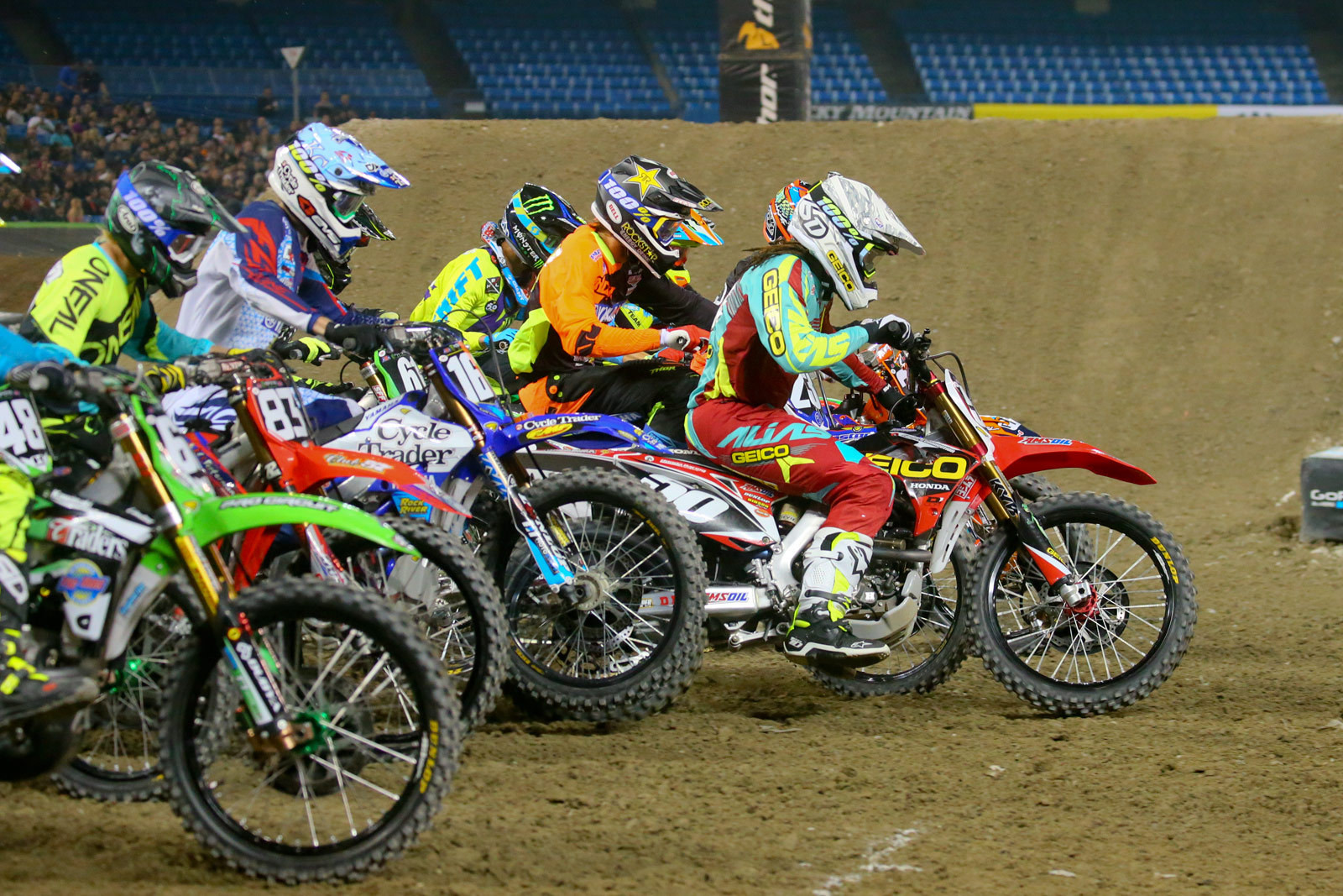 250 Heat Race Two Start - Photo Blast: Toronto - Motocross Pictures - Vital MX