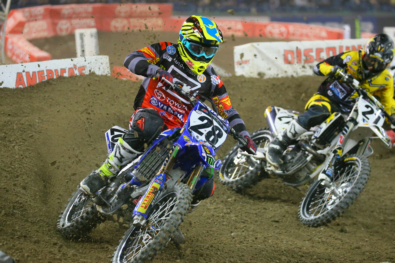 Weston Peick and Jason Anderson - Photo Blast: Toronto - Motocross Pictures - Vital MX