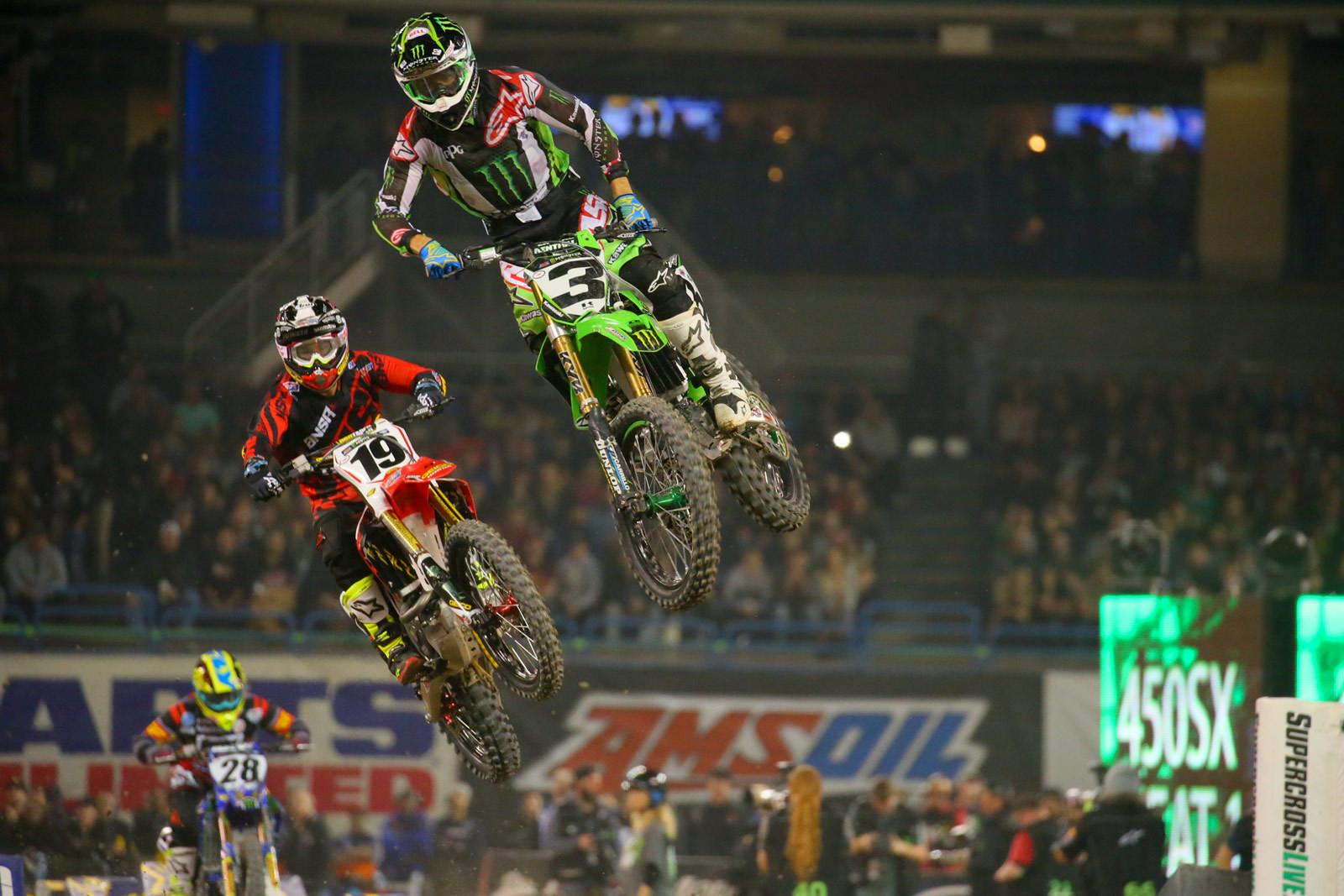 Eli Tomac and Justin Bogle - Photo Blast: Toronto - Motocross Pictures - Vital MX