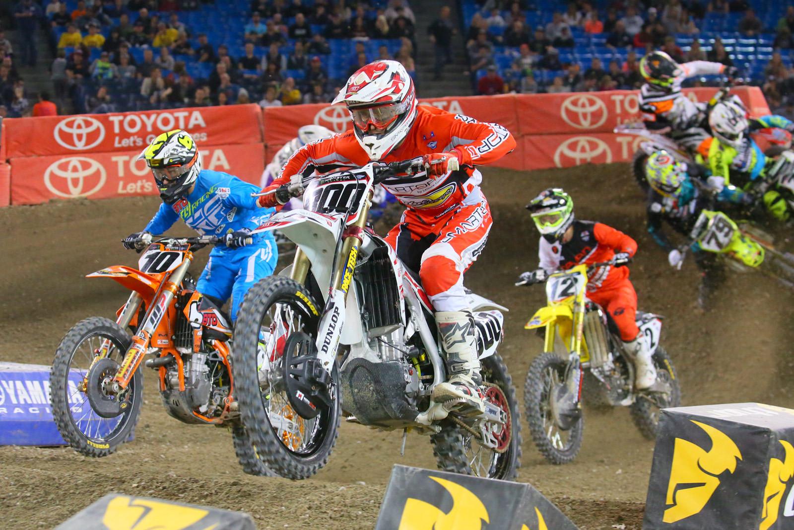 Mike Alessi and Justin Brayton - Photo Blast: Toronto - Motocross Pictures - Vital MX