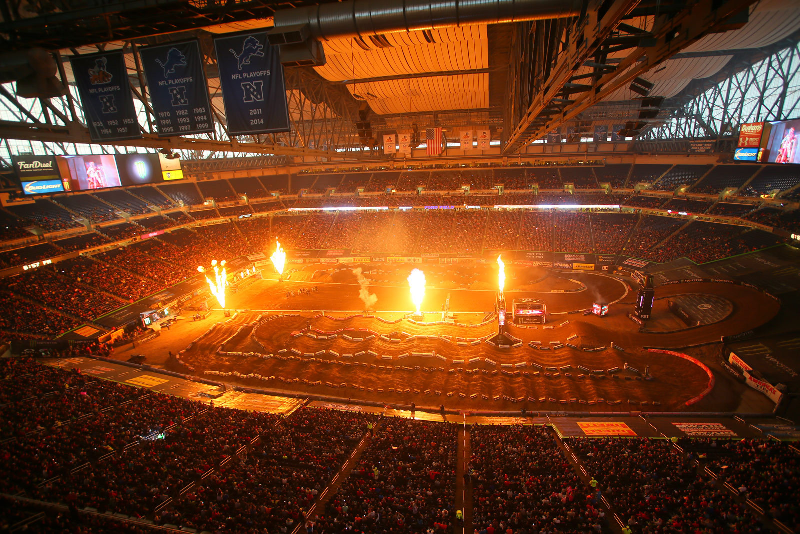 Ford Field - Photo Blast: Detroit - Motocross Pictures - Vital MX