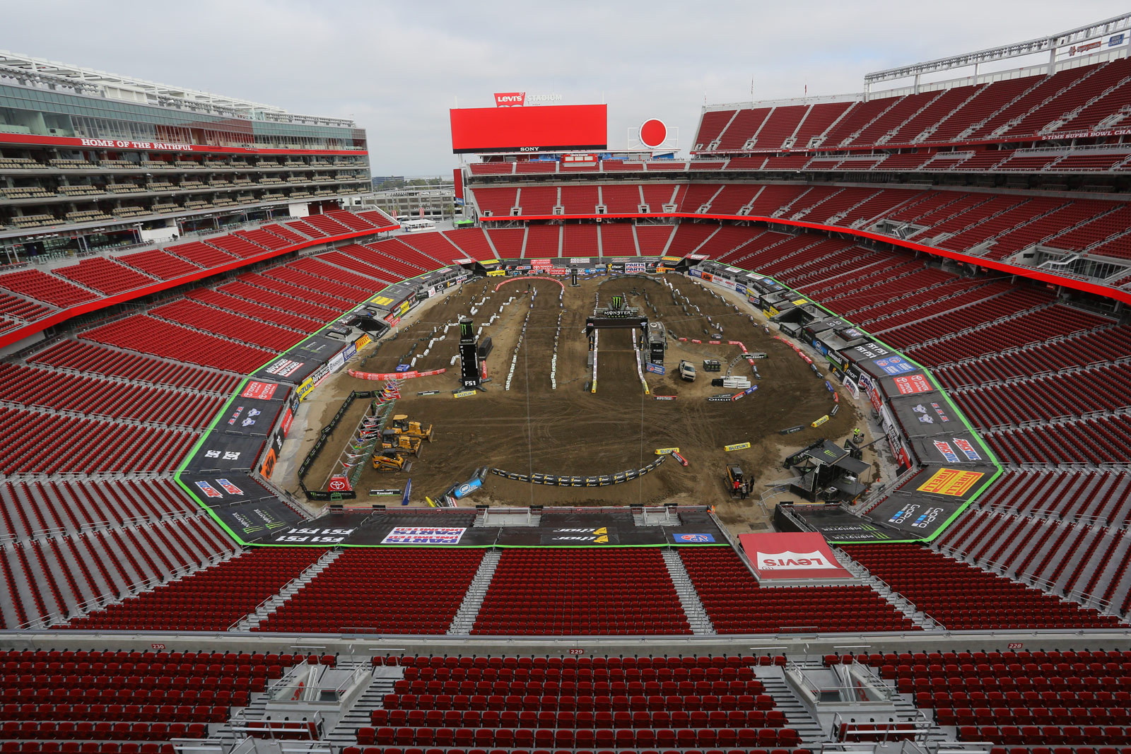 Levi's Stadium - Pit Bits: Santa Clara - Motocross Pictures - Vital MX