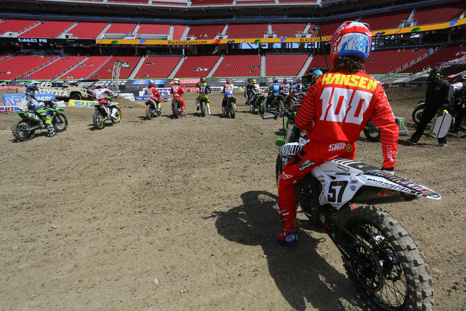 Josh Hansen - Pit Bits: Santa Clara - Motocross Pictures - Vital MX