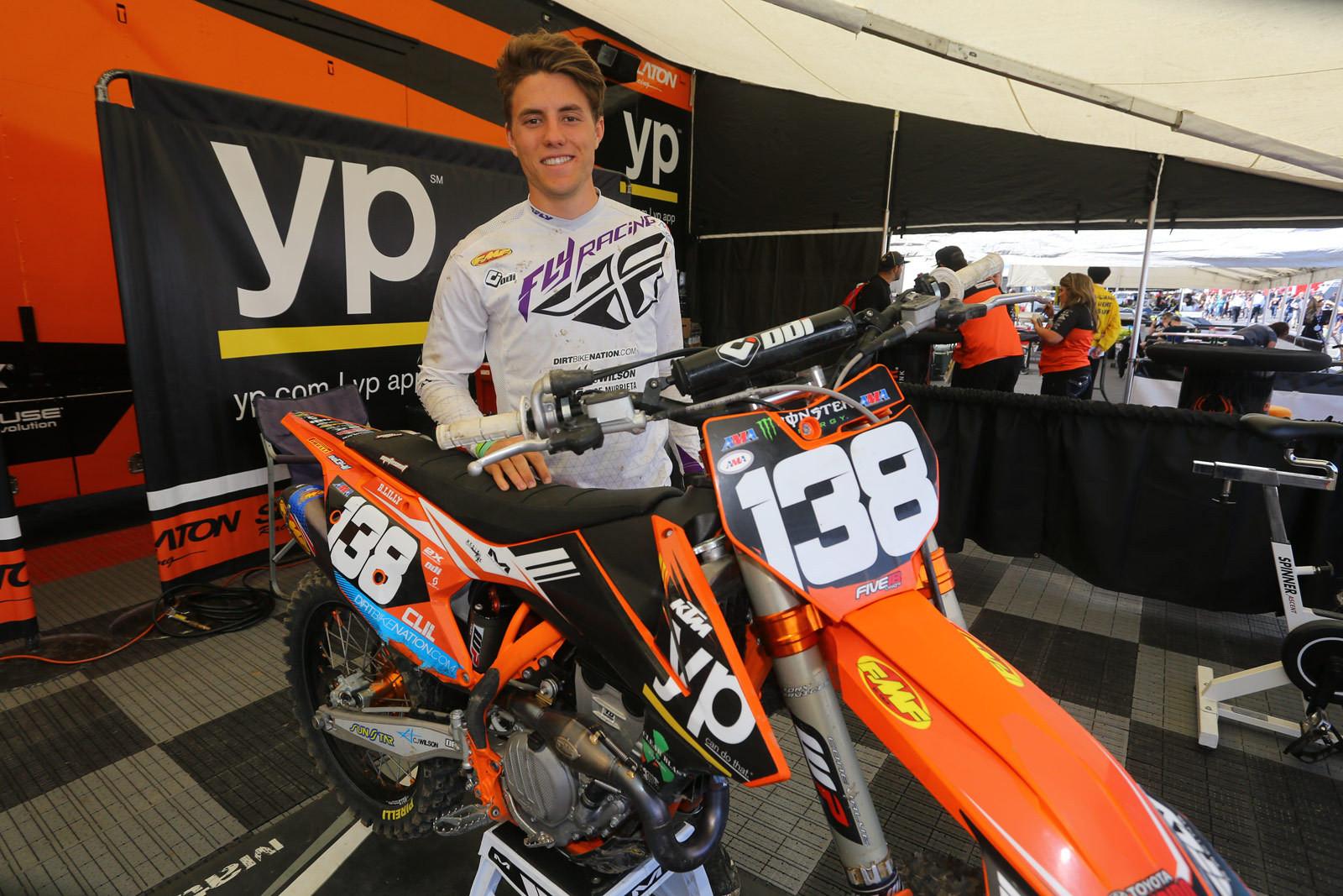 Blake Lilly - Pit Bits: Santa Clara - Motocross Pictures - Vital MX