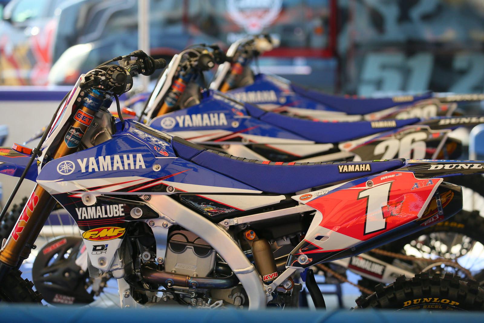 Yamalube Star Racing Yamaha - Pit Bits: Santa Clara - Motocross Pictures - Vital MX