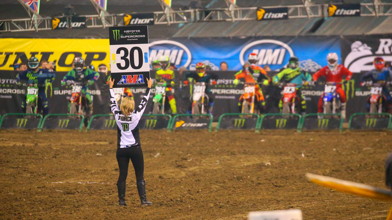 Brittany Force - Photo Blast: Indianapolis - Motocross Pictures - Vital MX