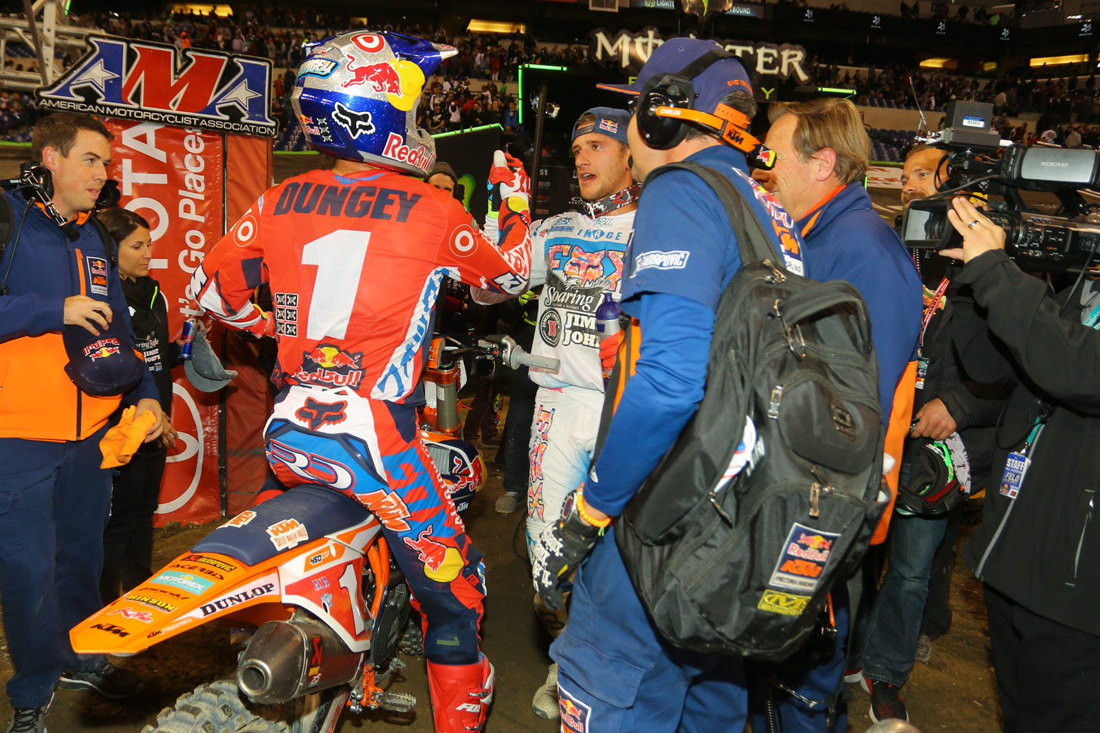 Ryan Dungey and Ken Roczen - Photo Blast: Indianapolis - Motocross Pictures - Vital MX