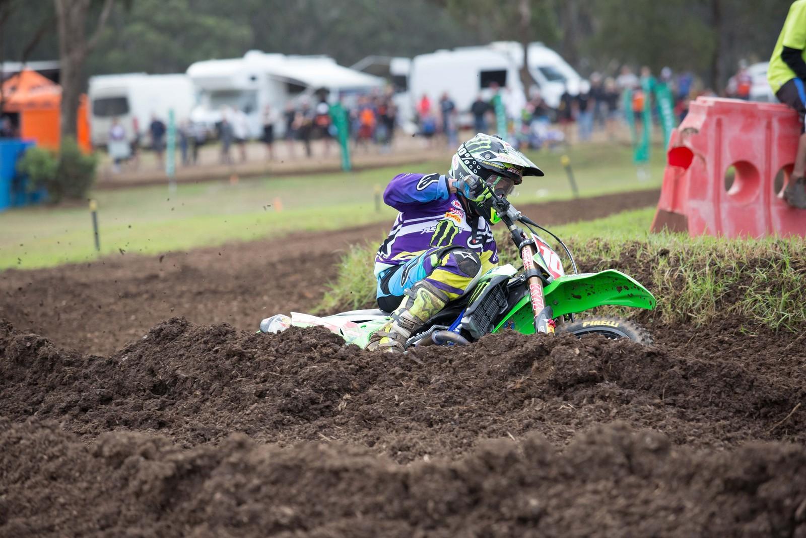 Matt Moss - Australian Motul Motocross Nationals Round 2, Appin - Motocross Pictures - Vital MX