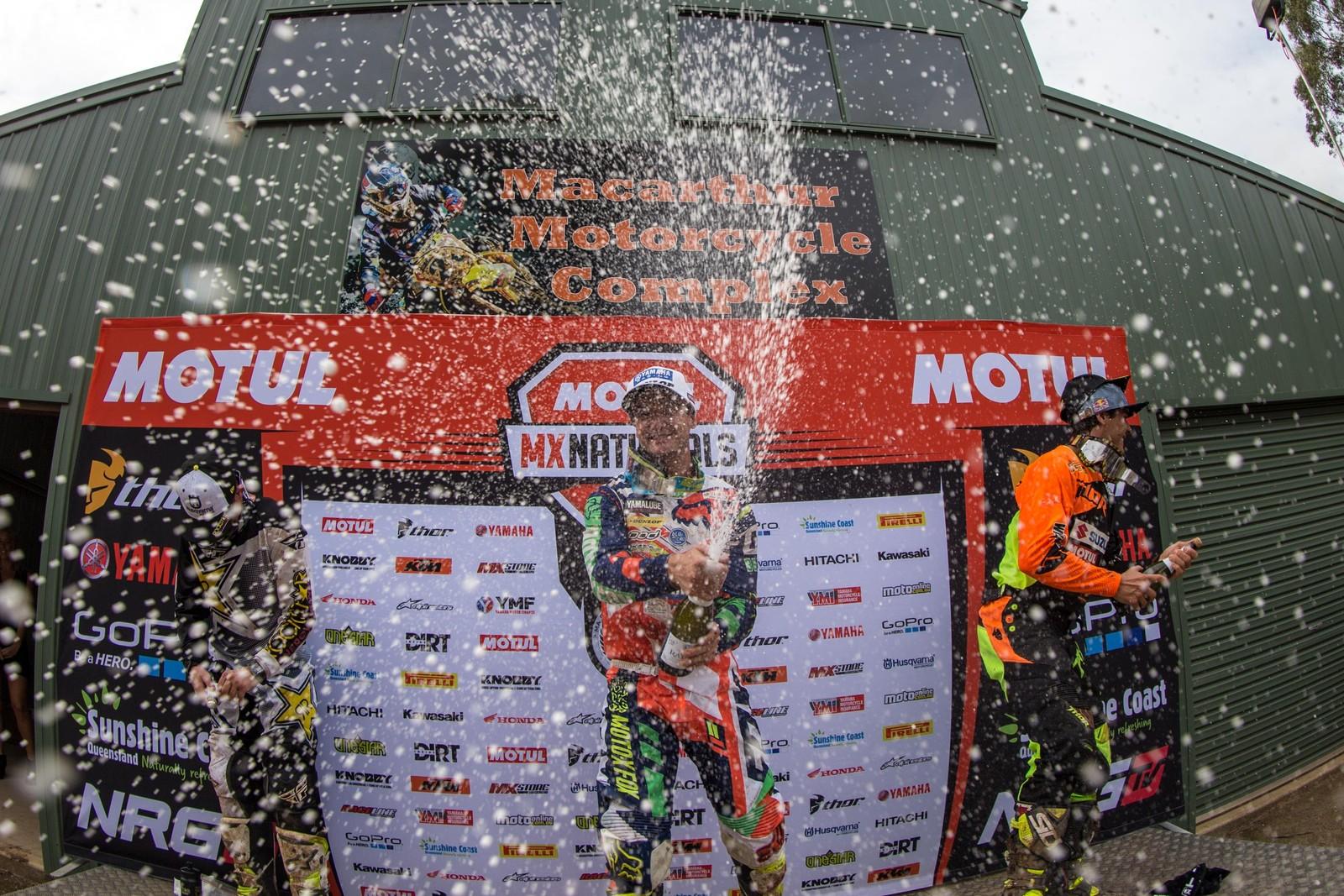 Dean Ferris, Brett Metcalfe, and Todd Waters - Australian Motul Motocross Nationals Round 2, Appin - Motocross Pictures - Vital MX