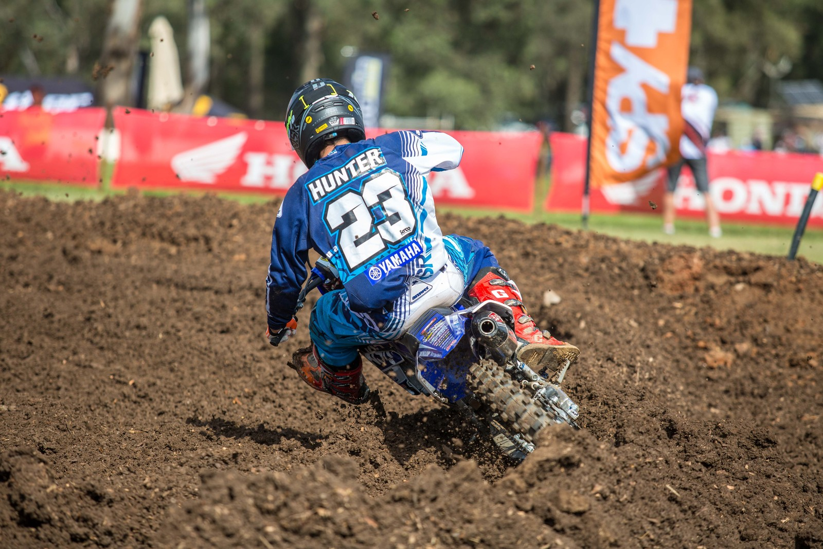 Wade Hunter - Australian Motul Motocross Nationals Round 2, Appin - Motocross Pictures - Vital MX