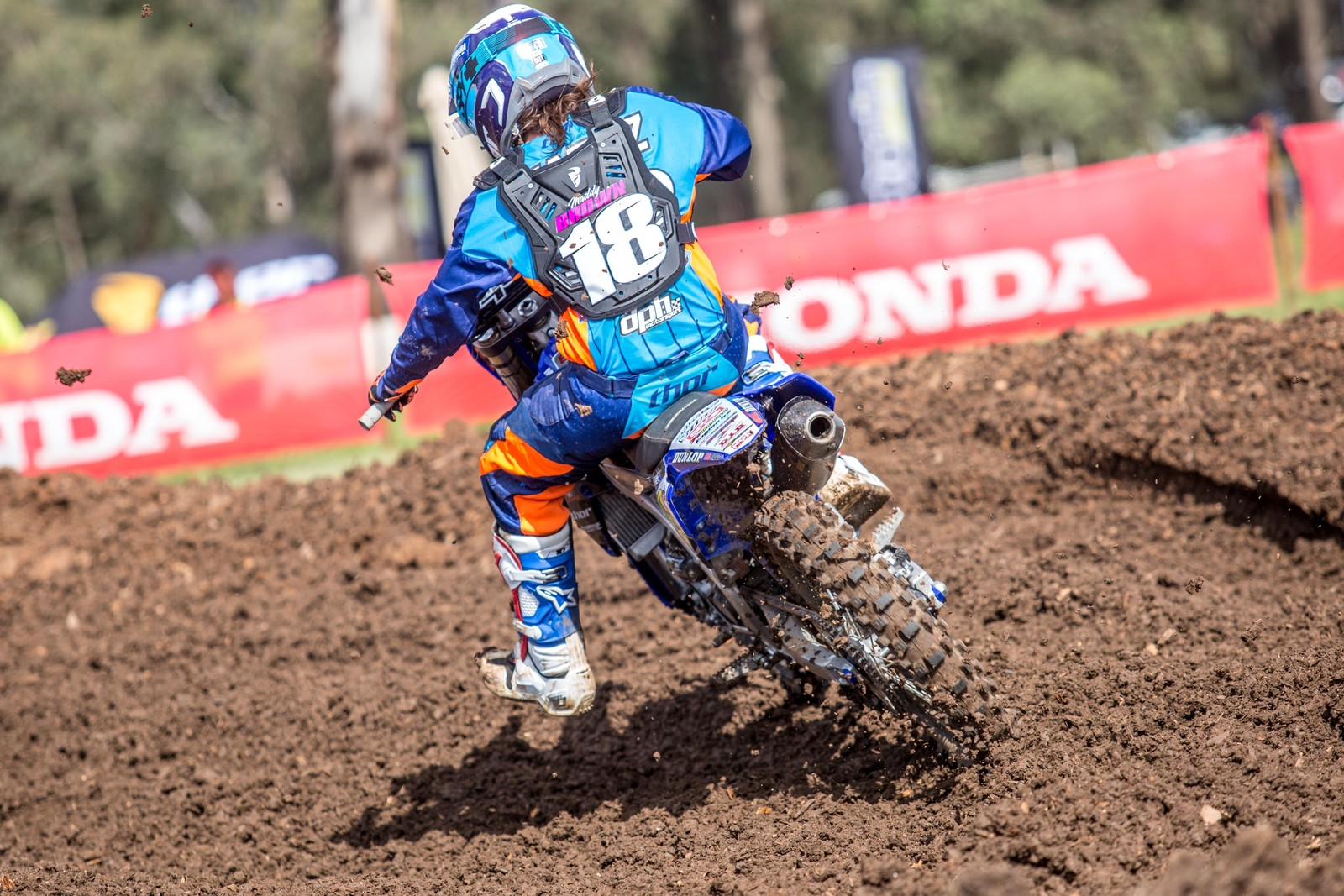 Maddy Brown - Australian Motul Motocross Nationals Round 2, Appin - Motocross Pictures - Vital MX