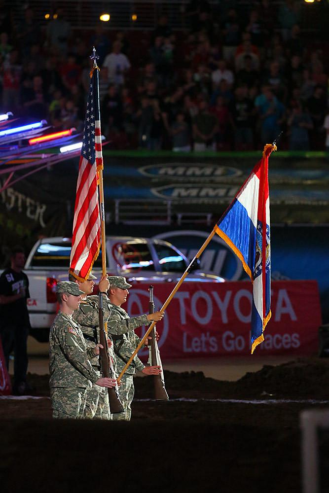 Color Guard - Photo Blast: St. Louis - Motocross Pictures - Vital MX