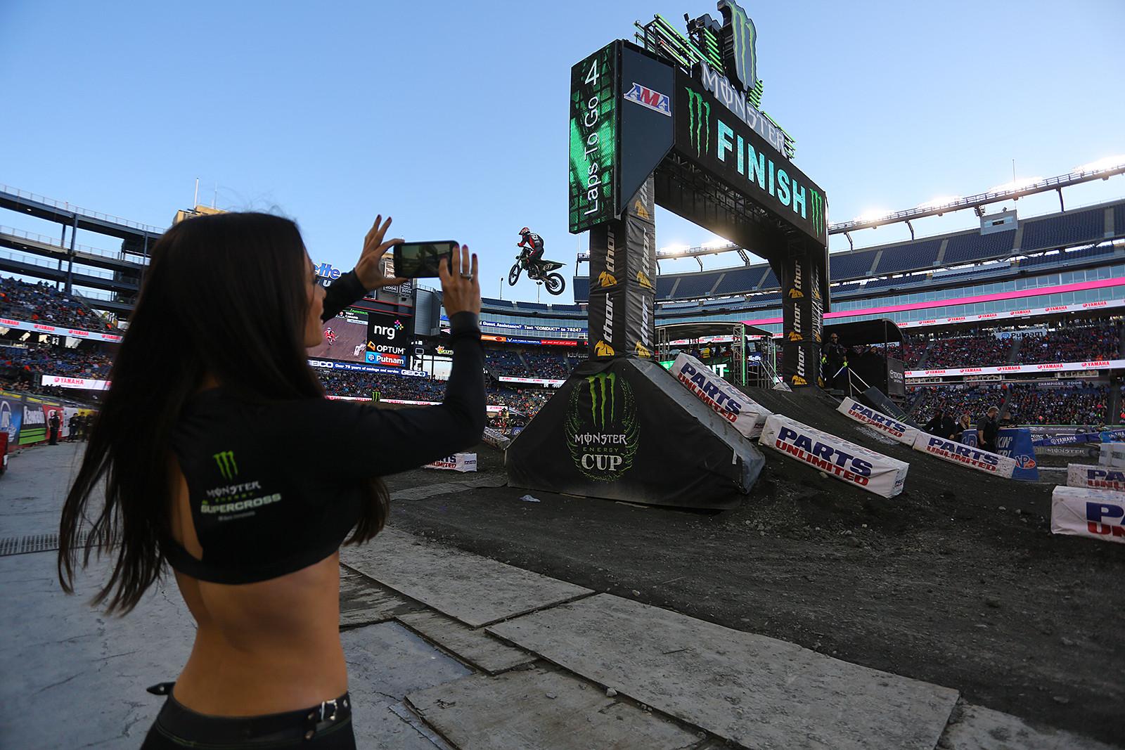 Juliana Daniell - Pit Bits: Foxborough - Motocross Pictures - Vital MX
