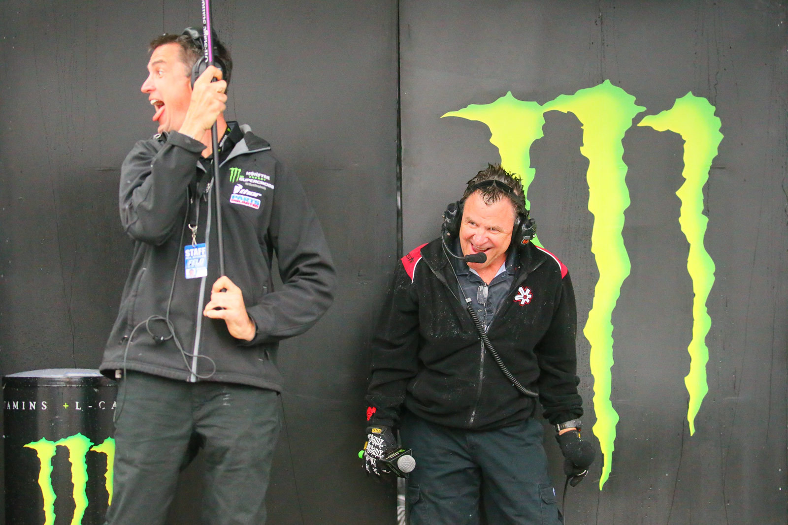 Lurch and Doc Bodnar - Pit Bits: Foxborough - Motocross Pictures - Vital MX