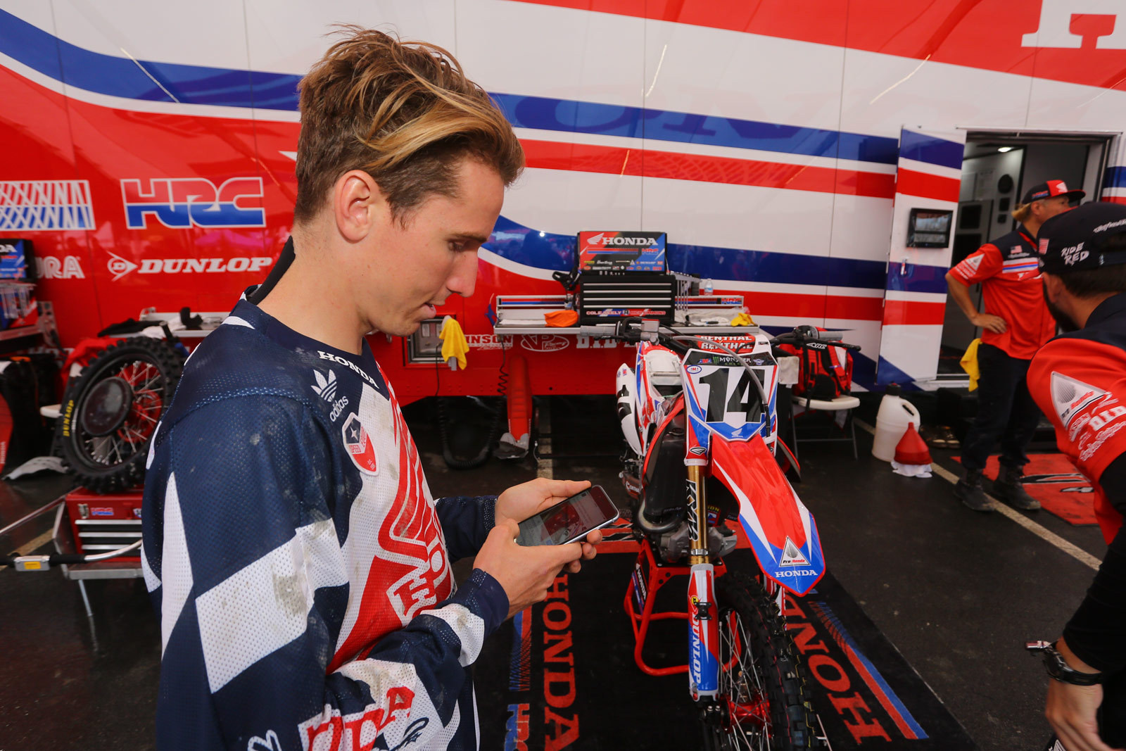 Cole Seely - Pit Bits: Foxborough - Motocross Pictures - Vital MX