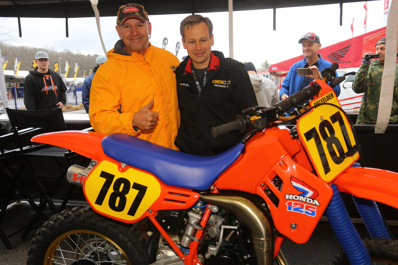 Ziggy...and a very good friend - Pit Bits: Foxborough - Motocross Pictures - Vital MX