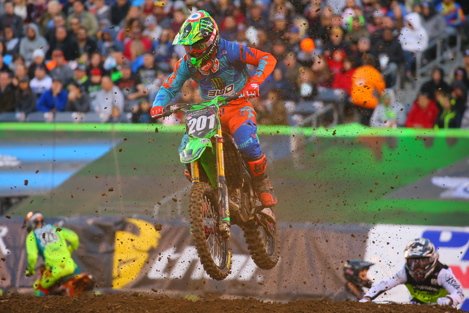 Cedric Soubeyras - Photo Blast: East Rutherford - Motocross Pictures - Vital MX