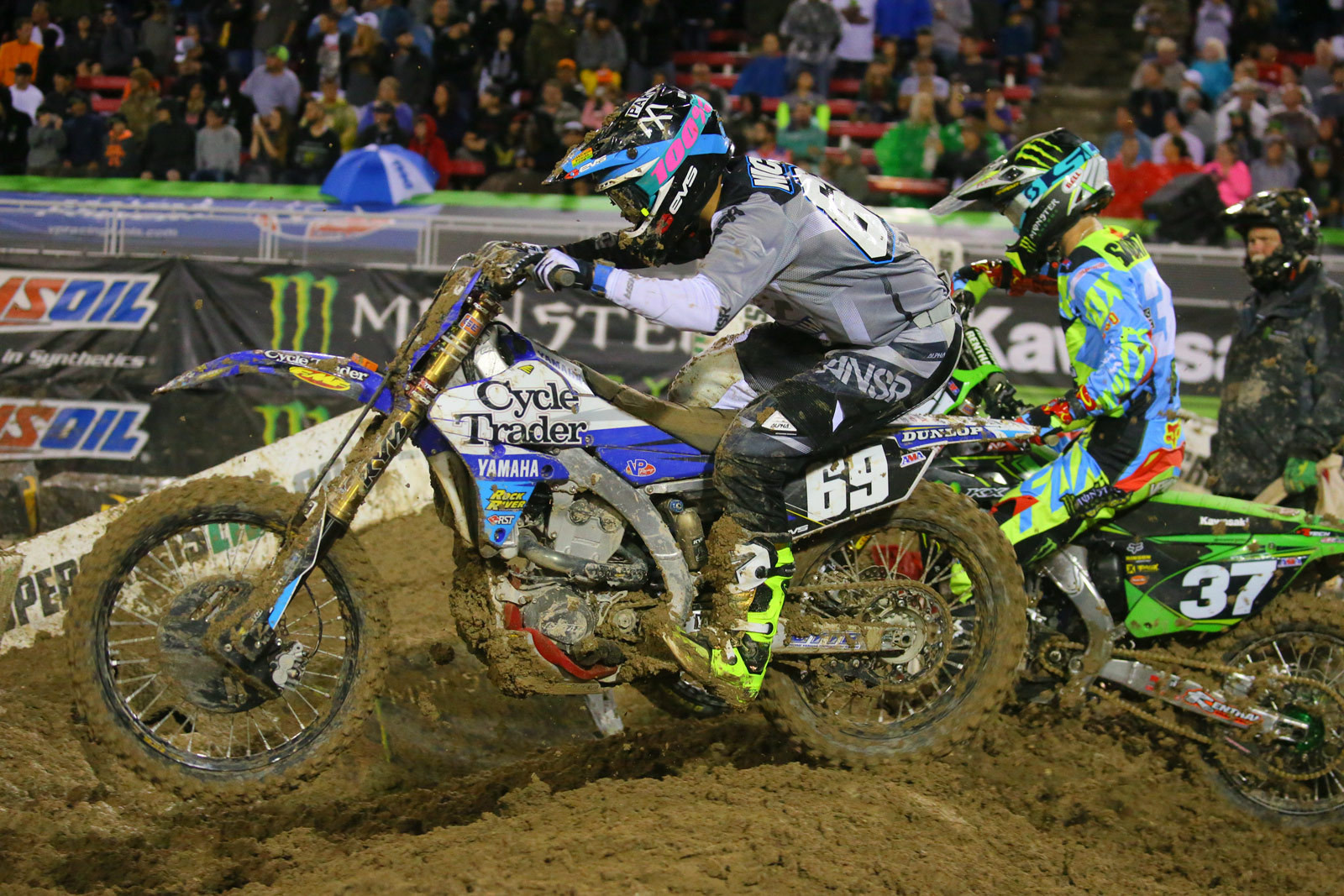 Colt Nichols and Joey Savatgy - Photo Blast: Las Vegas - Motocross Pictures - Vital MX