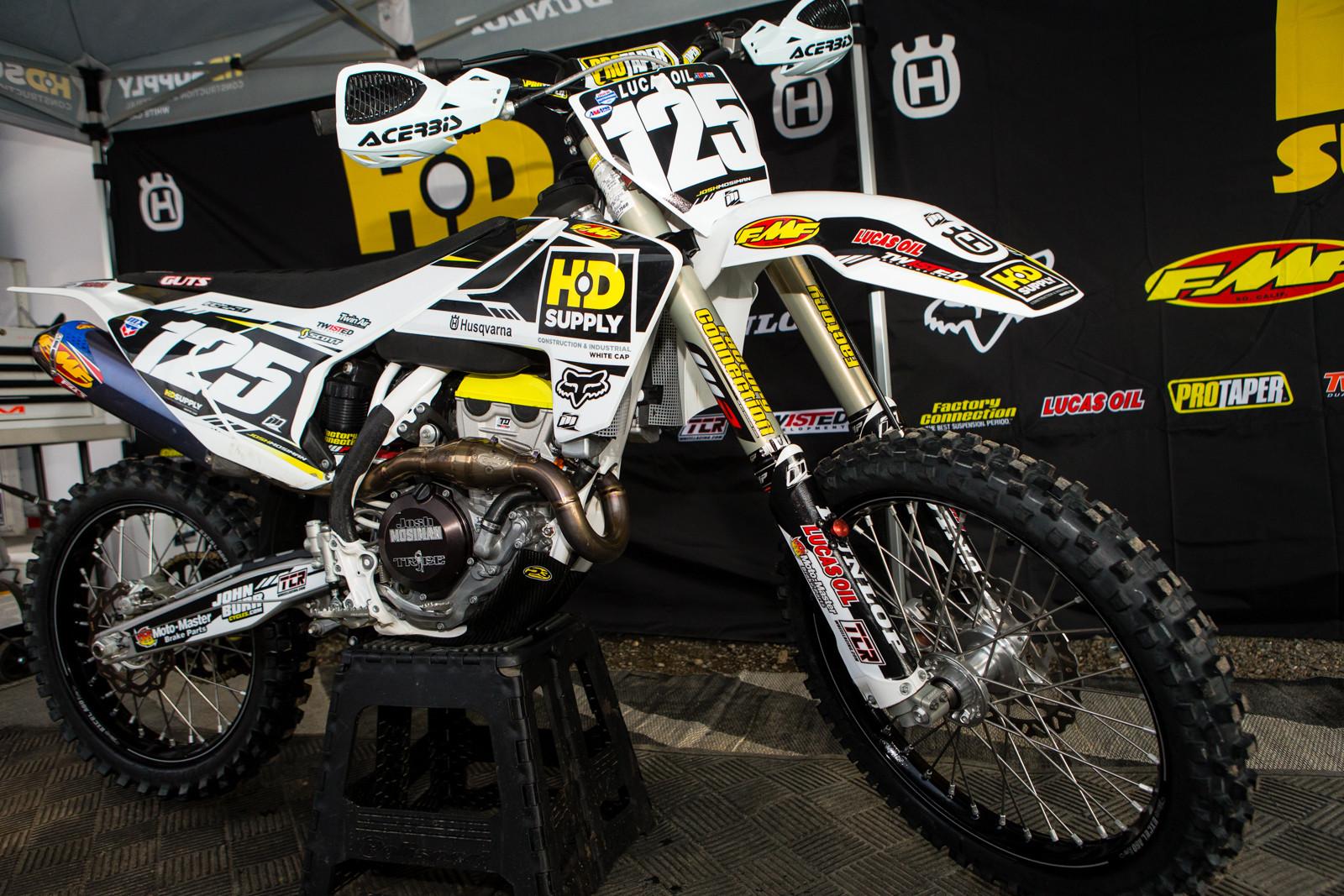 Josh Mosiman - Vital MX Pit Bits: Hangtown - Motocross Pictures - Vital MX