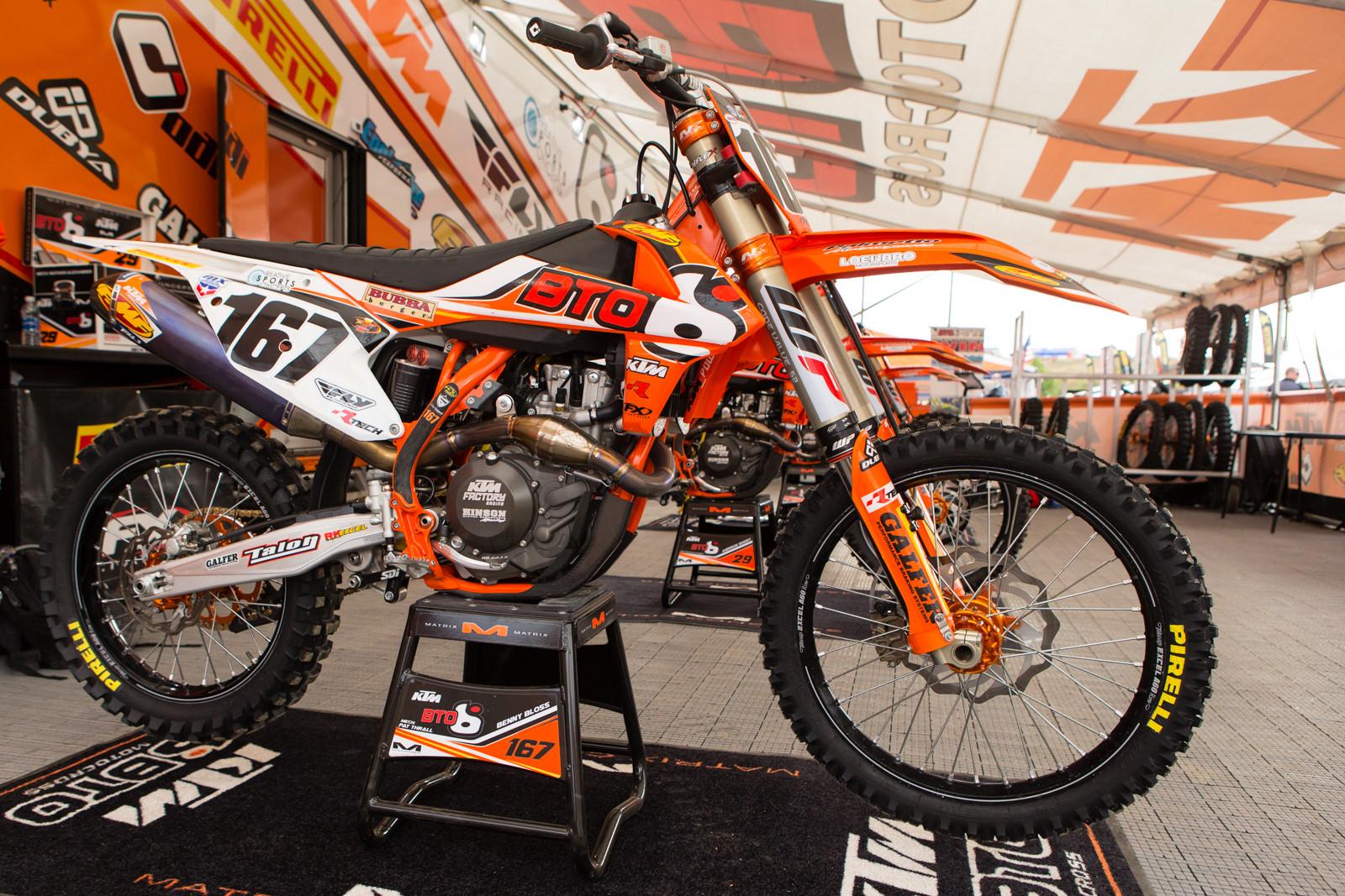 Benny Bloss - Vital MX Pit Bits: Hangtown - Motocross Pictures - Vital MX