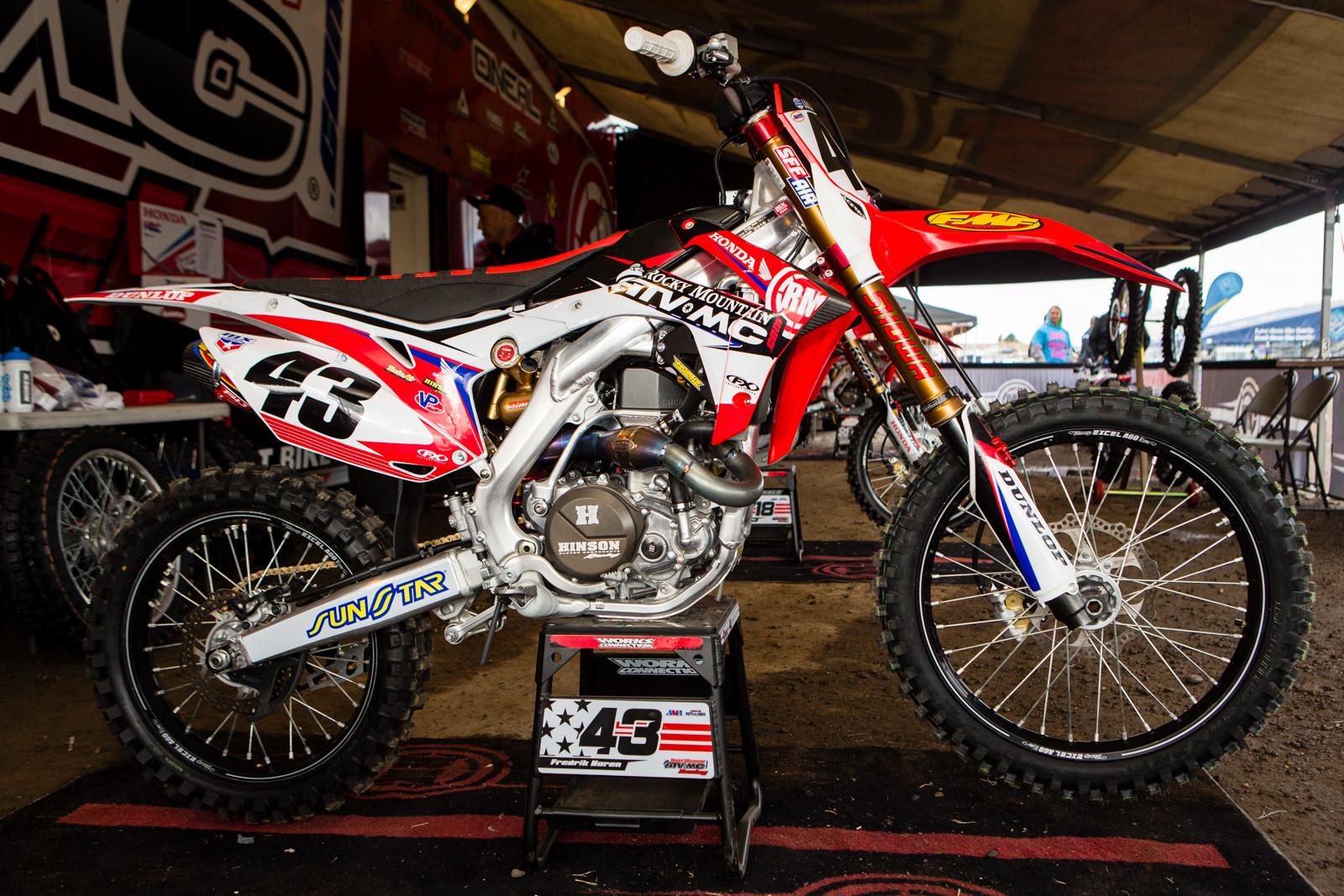 Freddy Noren - Vital MX Pit Bits: Hangtown - Motocross Pictures - Vital MX