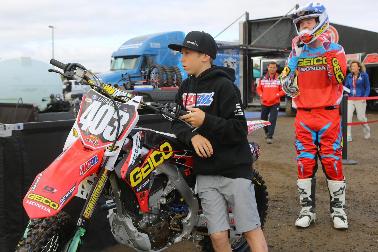 Carson Mumford - Vital MX Pit Bits: Hangtown - Motocross Pictures - Vital MX