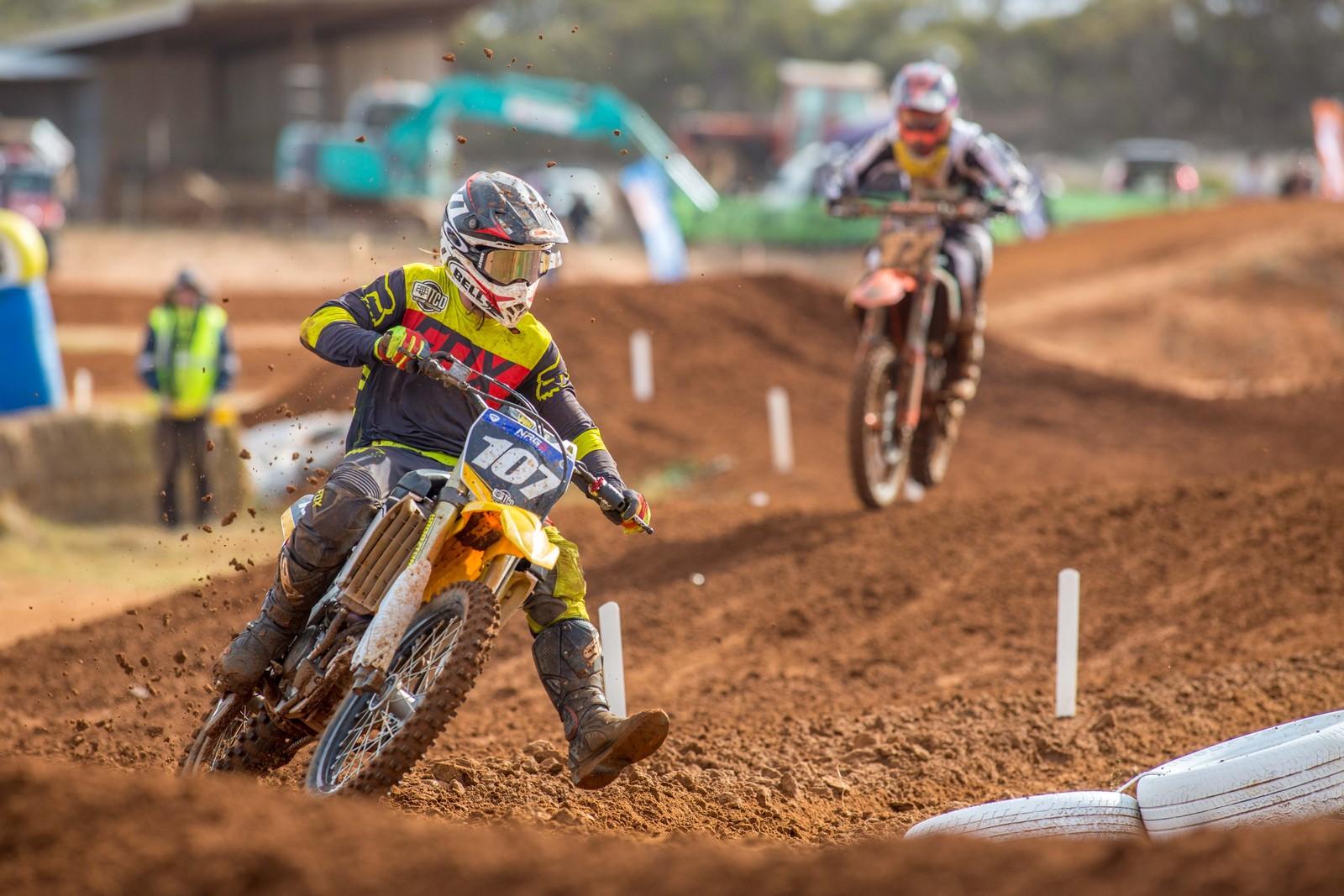 Darren Schenk - Australian Motul Mx Championships: Round 4, Murray Bridge - Motocross Pictures - Vital MX