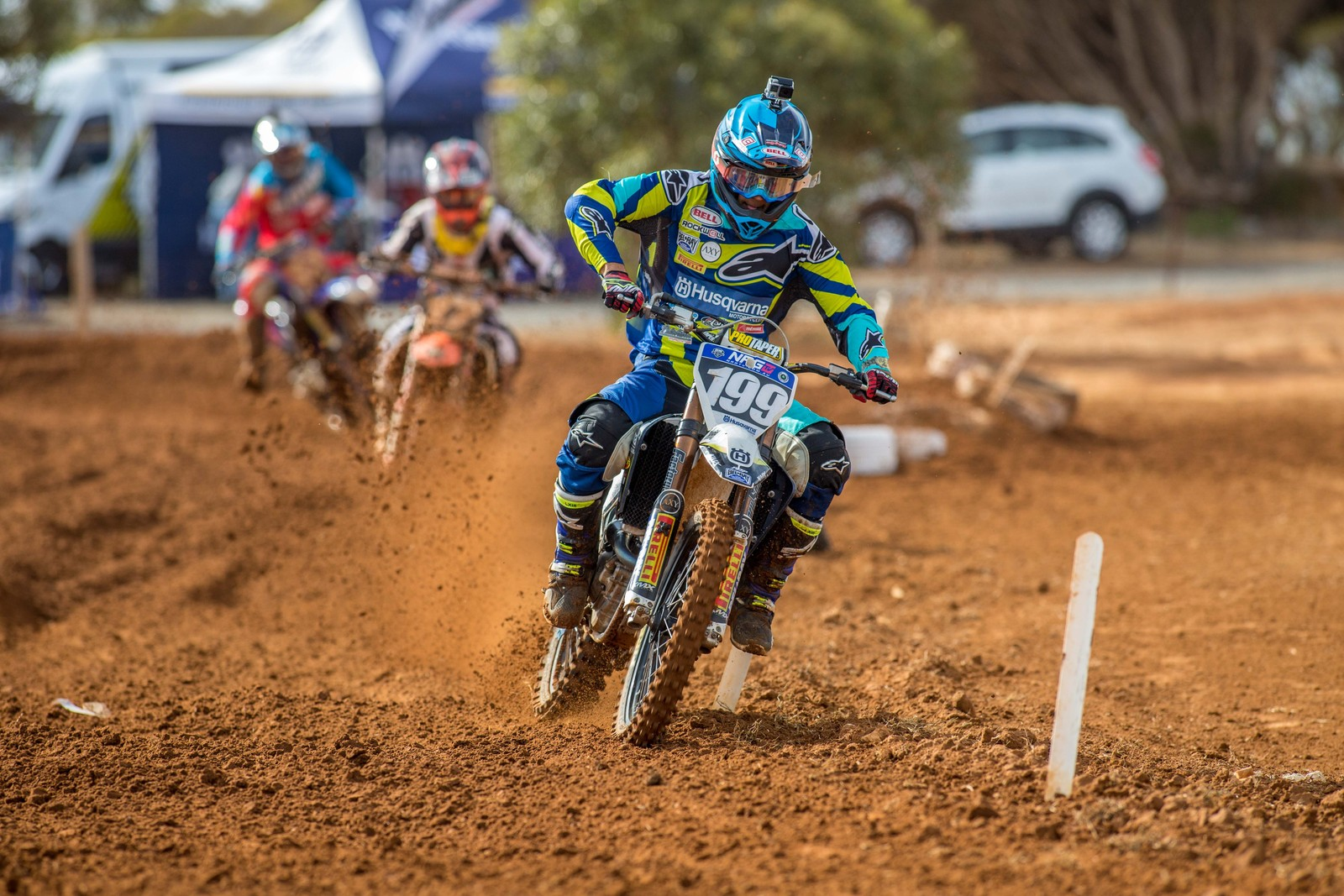 Nathan Crawford - Australian Motul Mx Championships: Round 4, Murray Bridge - Motocross Pictures - Vital MX