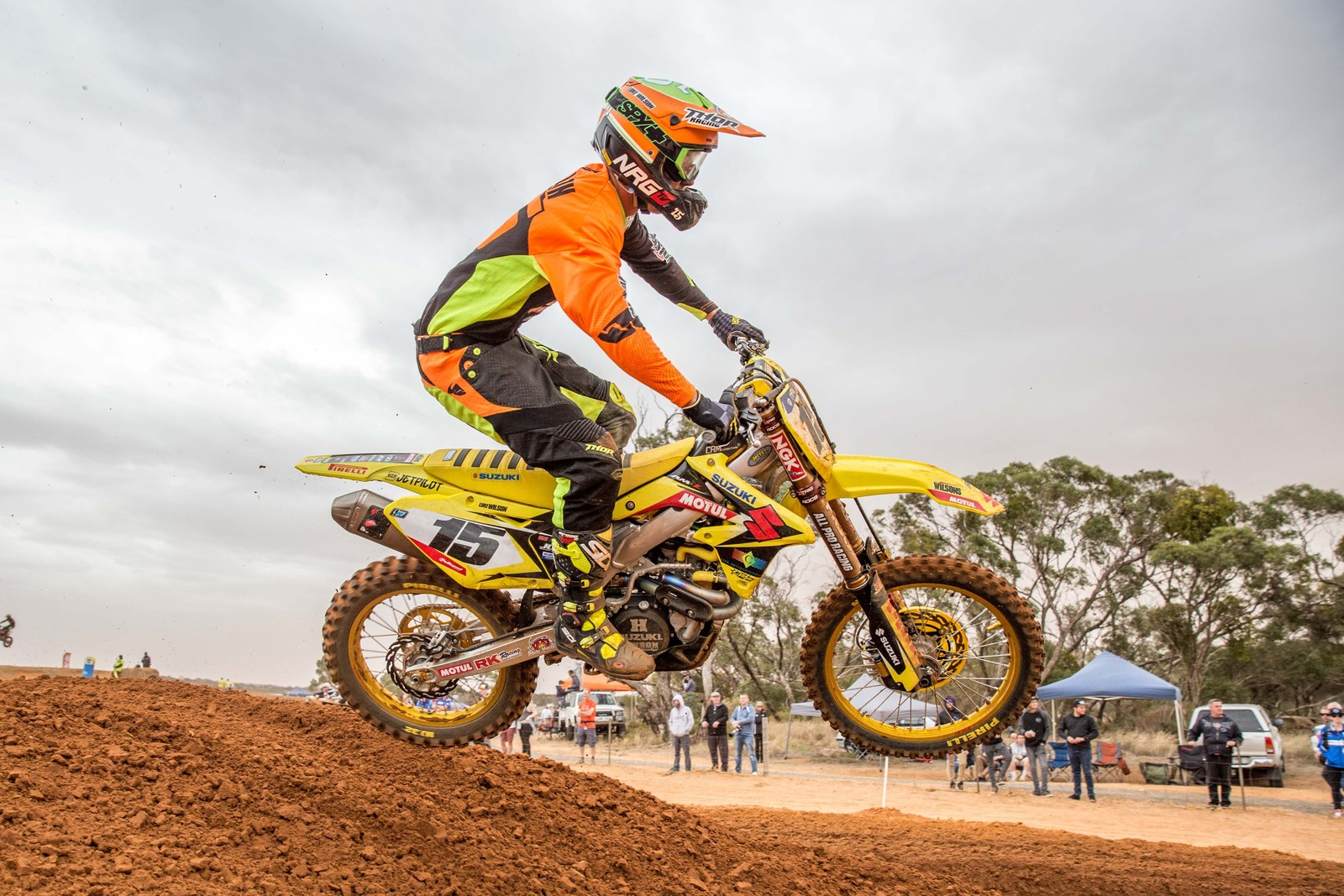 Luke Wilson - Australian Motul Mx Championships: Round 4, Murray Bridge - Motocross Pictures - Vital MX