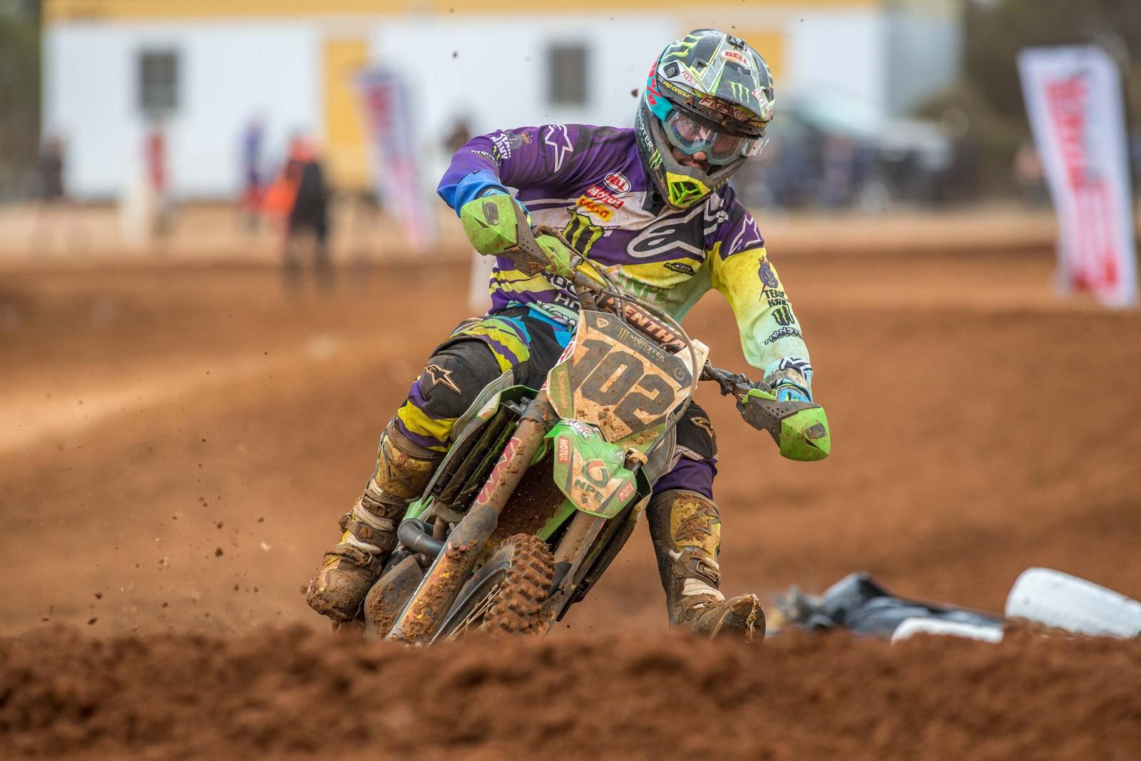 Matt Moss - Australian Motul Mx Championships: Round 4, Murray Bridge - Motocross Pictures - Vital MX