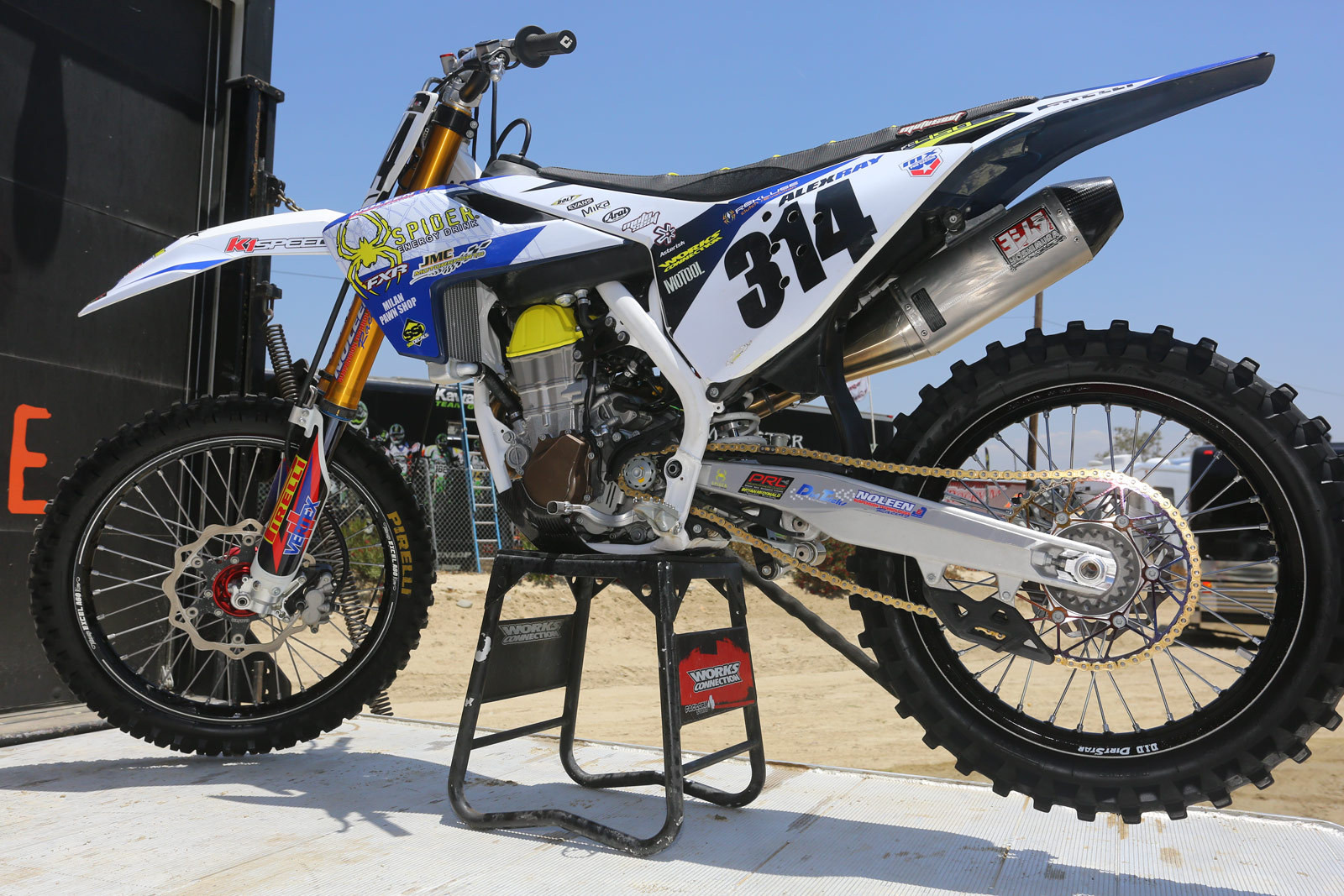 Alex Ray - Vital MX Pit Bits: Glen Helen - Motocross Pictures - Vital MX