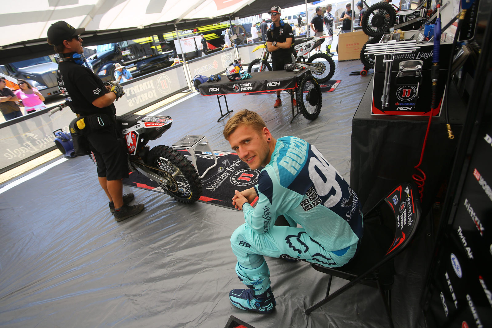 Ken Roczen - Vital MX Pit Bits: Glen Helen - Motocross Pictures - Vital MX
