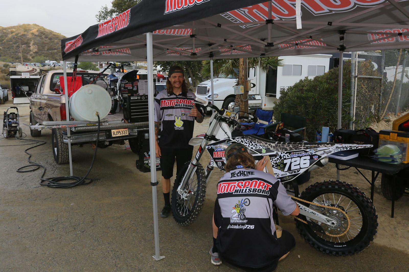 Gared Steinke - Vital MX Pit Bits: Glen Helen - Motocross Pictures - Vital MX