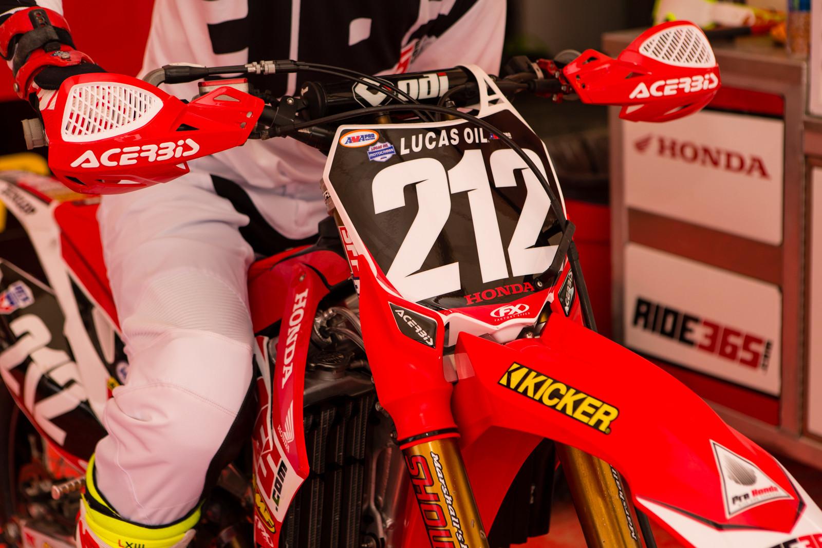 Acerbis - Vital MX Pit Bits: Glen Helen - Motocross Pictures - Vital MX