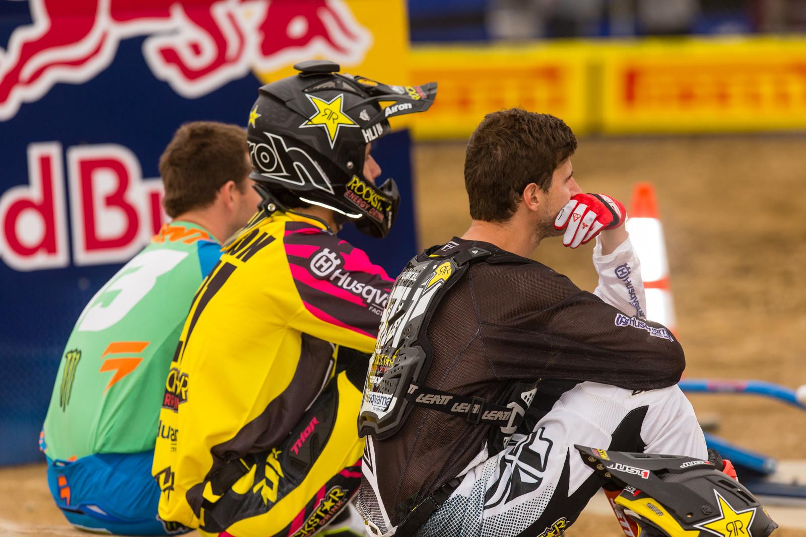 Josh Grant, Jason Anderson, Christophe Pourcel - Vital MX Pit Bits: Glen Helen - Motocross Pictures - Vital MX
