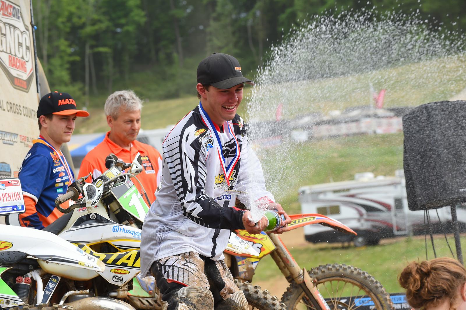 Champagne time - John Penton GNCC - Motocross Pictures - Vital MX
