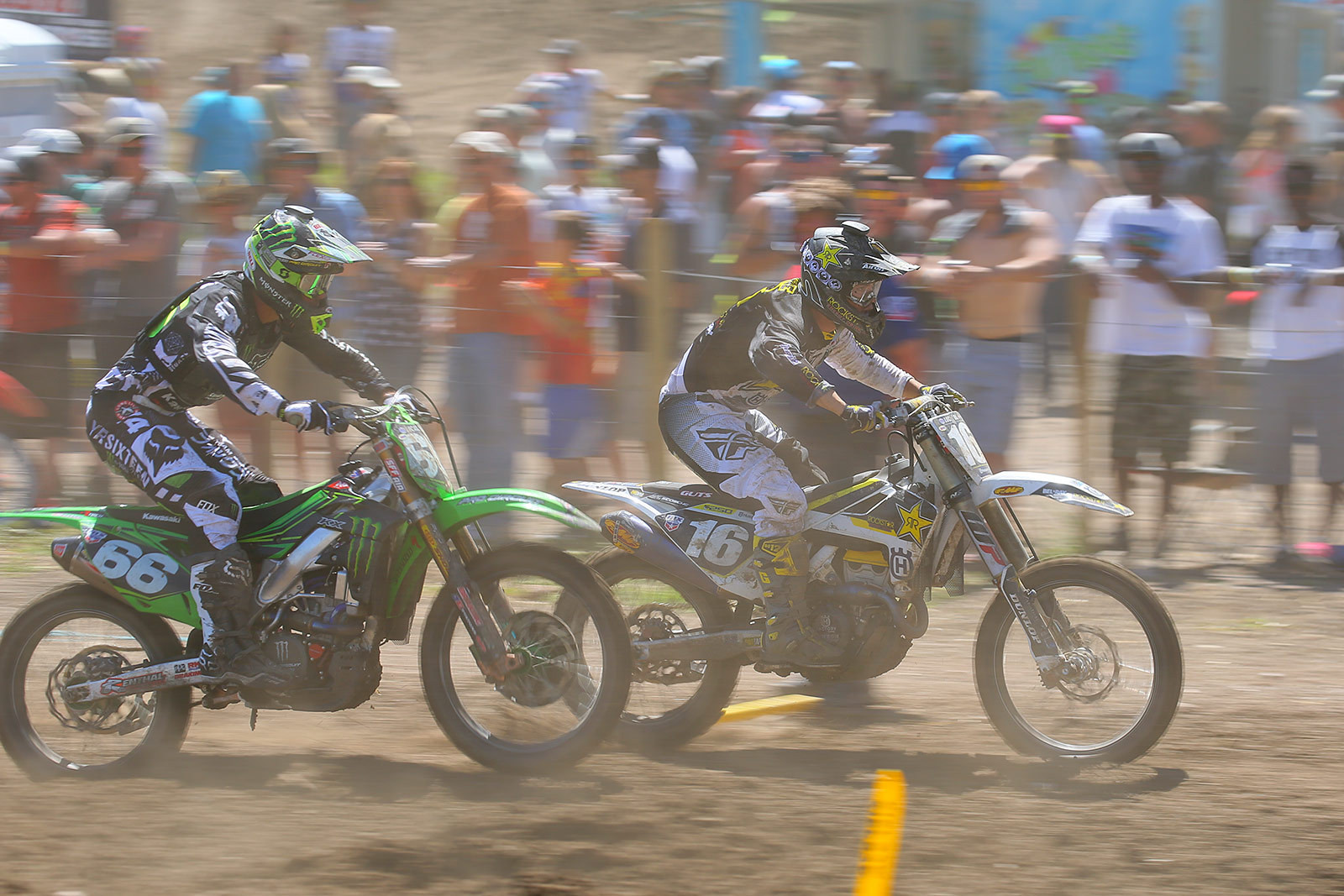 Martin Davalos and Zach Osborne - Photo Blast: Thunder Valley - Motocross Pictures - Vital MX