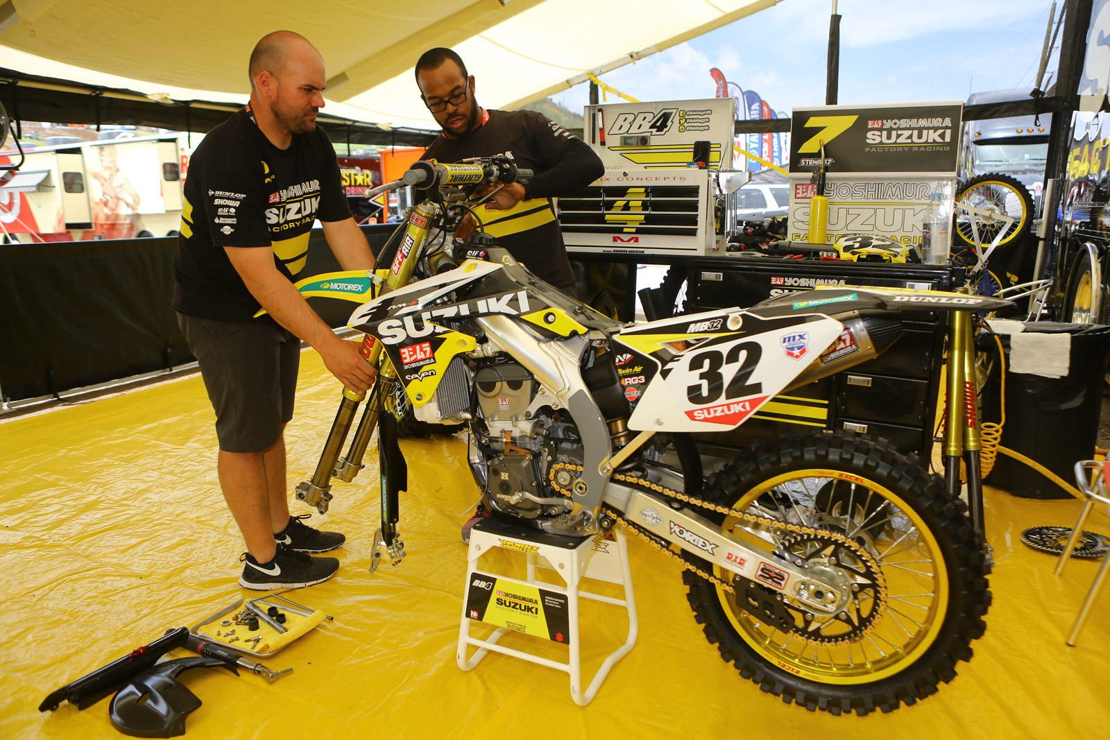 Matt Bisceglia - Vital MX Pit Bits: Thunder Valley - Motocross Pictures - Vital MX