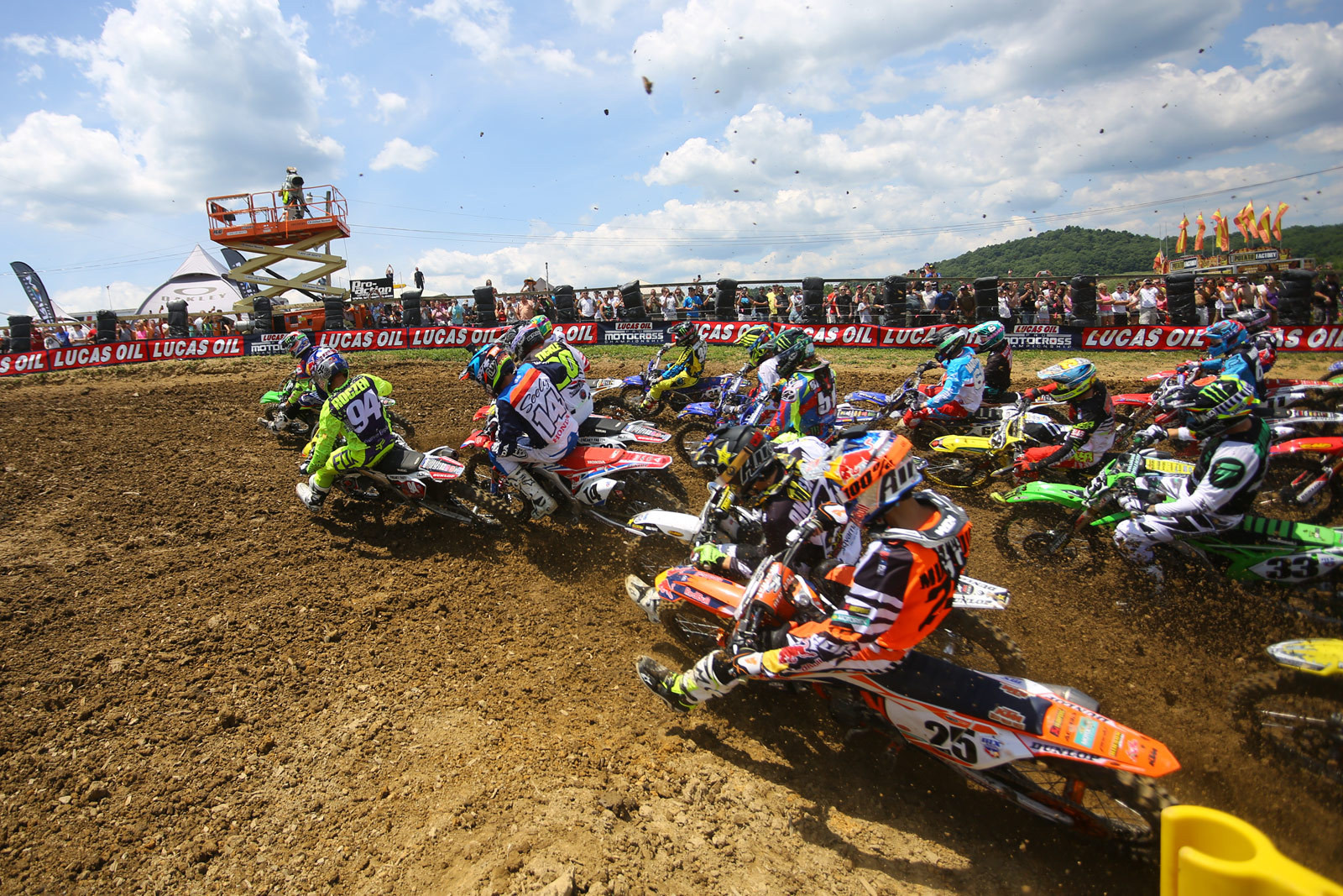 Photo Blast from High Point Raceway. 450 moto one start. - Photo Blast: High Point - Motocross Pictures - Vital MX